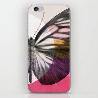eric fan iPhone & iPod Skins featuring Flight - by Eric Fan and Garima Dhawan  by Eric Fan