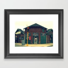 Summit Package Store in Springfield, MA Framed Art Print