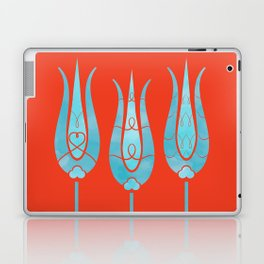 Turkish Tulips ethic design Laptop & iPad Skin