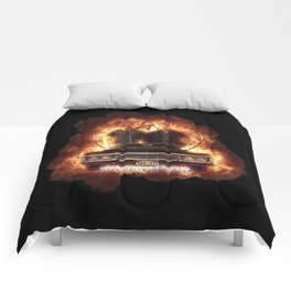 Supernatural Explosion 3 Comforters