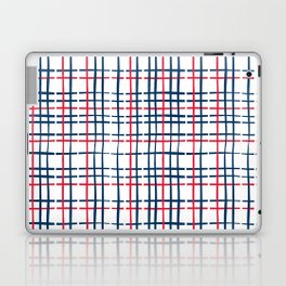 4th of July Skinny Gingham Laptop & iPad Skin