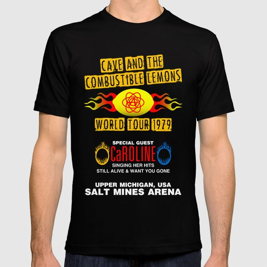 Cave & The Combustible Lemons T-shirt