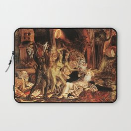 Demons attack!! Laptop Sleeve