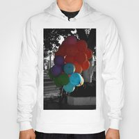 balloon Hoodies featuring balloon by gzm_guvenc