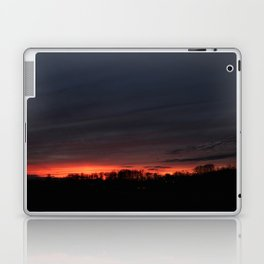 Another Midwestern Sunset Laptop & iPad Skin