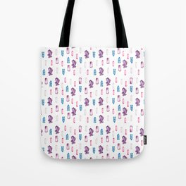 Witchy Crystals Pattern Tote Bag