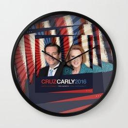 Cruz Carly 2016 Wall Clock