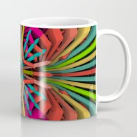 cyberpunk Mugs featuring Tropica by Obvious Warrior