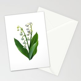 Lily of the Valley Floweret Stationery Cards