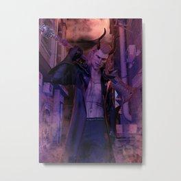 [Bloodmoon] - Kaiden - Dark Fantasy - 3D Render Metal Print