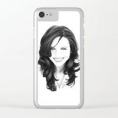 lana I Clear iPhone Case