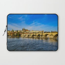 Charles Bridge in Prague Laptop Sleeve