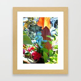 Garden of Happiness Framed Art Print