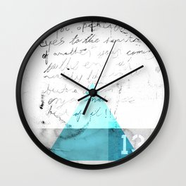 Abstract Geometry 4  Wall Clock