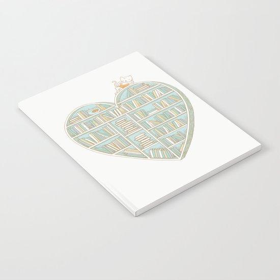 I Heart Books Notebook