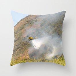 Barnett Fire In Ventura Throw Pillow