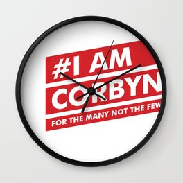 I Am Corbyn Wall Clock