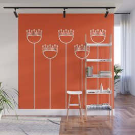 Blossom on Clementine Wall Mural