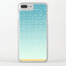 April Showers Bring May Flowers Clear iPhone Case