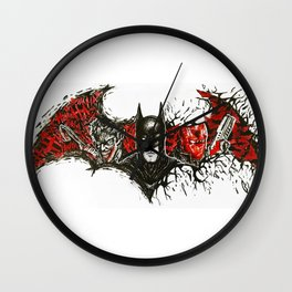 Under the Red Hood Wall Clock