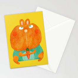 Droopy Rabbit Stationery Cards