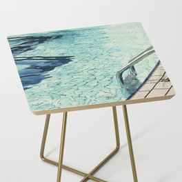 Summertime swimming Side Table