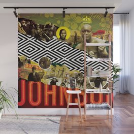 BRING THE PAIN: JACK JOHNSON Wall Mural