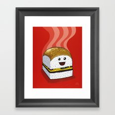 Dinner for One Framed Art Print
