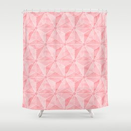 Gedesic Palm_Rose Shower Curtain