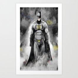 Superheroes 1 Art Print