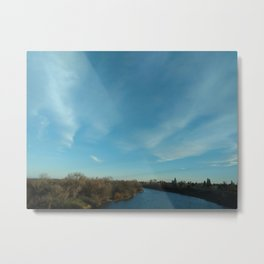American River, 2020 from Roberta Winters photography Metal Print