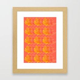 Floral Dancers Framed Art Print