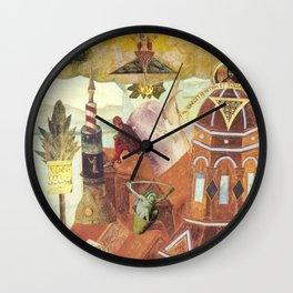 """Reconstruction of Cuaxies"" Wall Clock"