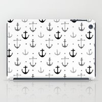 anchor iPad Cases featuring Anchor by Miriam Sironi