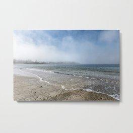 Fog rolling in on Niles Beach 5-9-18 Metal Print