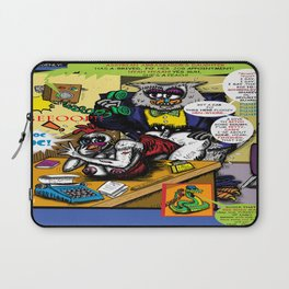 Bird of Steel Comix - Page #5 of 8 (Society 6 POP-ART COLLECTION SERIES)  Laptop Sleeve