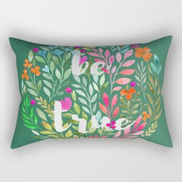 Be true V2 - Just be Collection Rectangular Pillow