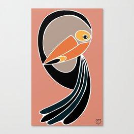 Toucan Down Canvas Print