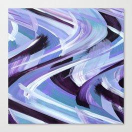Wavy Blue Canvas Print