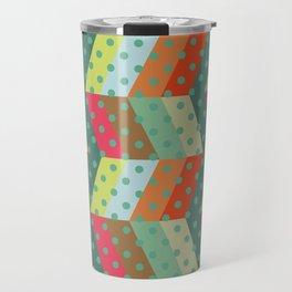 retro pattern and observatory 2 Travel Mug