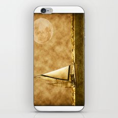 Ships are safe in harbor iPhone & iPod Skin