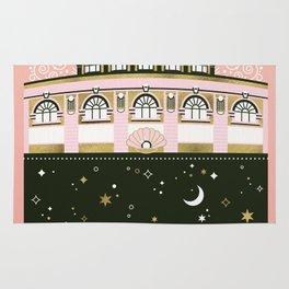 Budapest Bath House – Peach & Gold Palette Rug