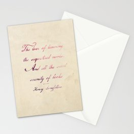 the love of Stationery Cards