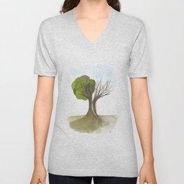 Duality Tree Unisex V-Neck