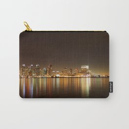 San Diego Skyline Night Carry-All Pouch