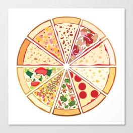 Feast of St. Pizza: Lebanon Edition Canvas Print