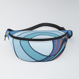 Moon surf Fanny Pack