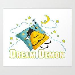 """Dream Demon"" Art Print"