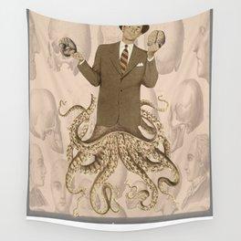 The Brain Salesman Wall Tapestry