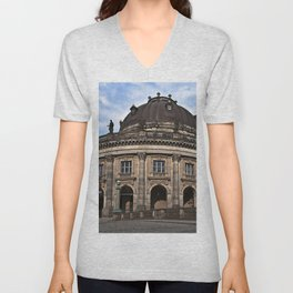 Bode Museum with cloud drama Unisex V-Neck